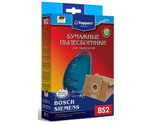 Пылесборники бумажные Topperr BS2
