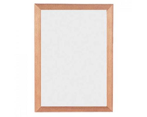 Рамка для документов настенная, 21х30см, стекло/светлое дерево