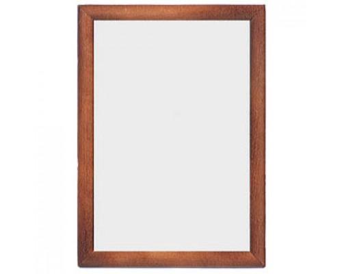 Рамка для документов настенная, 21х30см, стекло/темное дерево