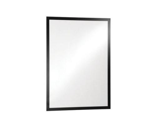 Рамка 50х70см DURABLE Duraframe Poster 4996-01, самоклеящаяся, магнитная, черный
