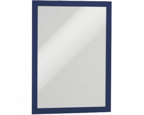 Рамка A4 DURABLE Duraframe 4872-07, самоклеящаяся, магнитная, синий, 2шт