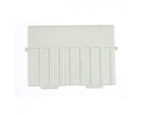 Разделитель для картотеки А5 HAN пластиковый, горизонтальный, серый