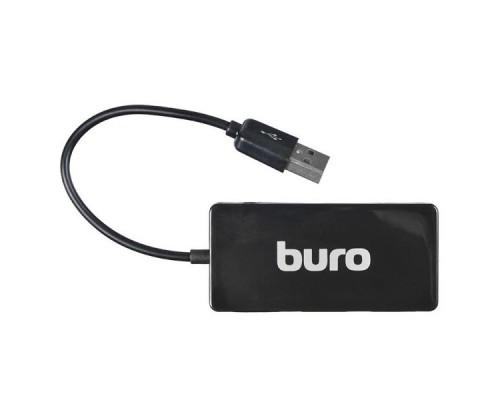 Хаб-мини HUB BURO USB2.0 4-портовый