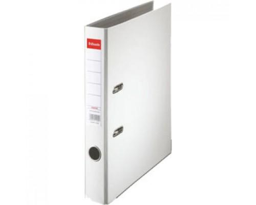Папка-регистратор А4 ESSELTE Economy, снаружи полипропилен, изнутри бумага, 50мм, белый