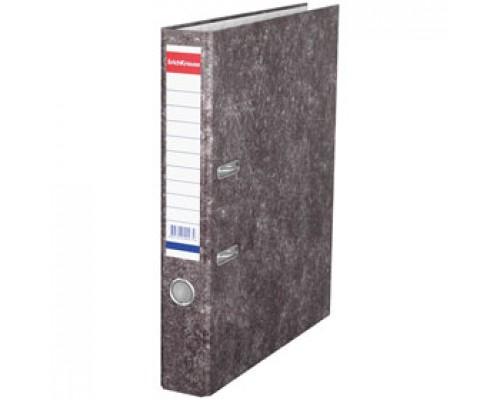 Папка-регистратор А4 ERICH KRAUSE, картон, 50мм, мрамор