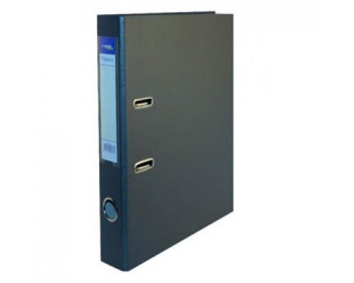 Папка-регистратор А4 Classic, снаружи полипропилен, изнутри бумага, 80мм, серый