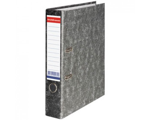 Папка-регистратор А4 ERICH KRAUSE, картон, 70мм, мрамор