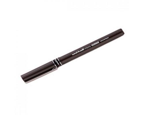 Роллер UNI-Ball micro deluxe UB-155, 0,5мм, черный