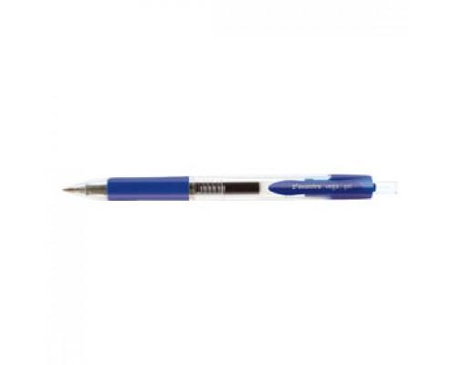 Ручка гелевая автоматическая AVANTRE Vega, с резин. держателем, синий
