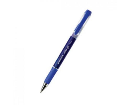Ручка гелевая AVANTRE Enite Gel, с резиновым держат., синий