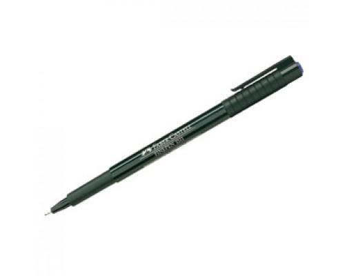 Ручка капиллярная FABER-CASTELL Finepen 151151, 0,4мм, синий