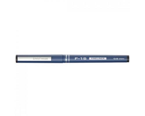 Ручка капиллярная ERICH KRAUSE F-15, 0,6мм, черный