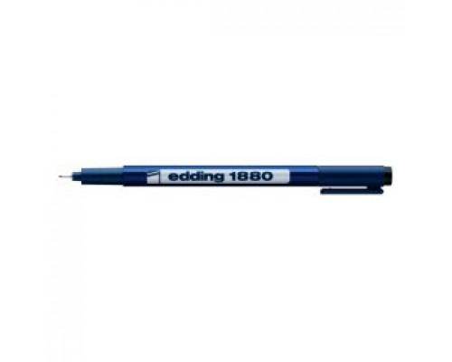 Ручка капиллярная EDDING E-1880, 0,05мм, черный