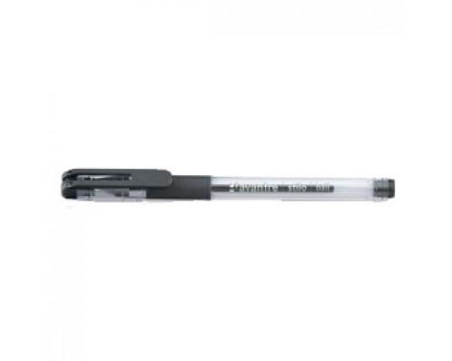 Ручка шариковая AVANTRE Stilo, c резин.держателем, черный