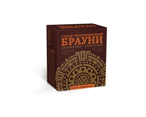 Сахар прессованный Брауни Light Demerara коричневый светлый 500 г