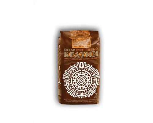 Сахар Брауни Light Demerara коричневый светлый тростниковый 900 г
