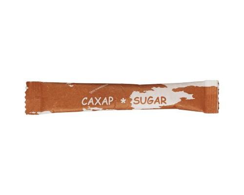 Сахар порционный Материк тростниковый в стиках 200 штук по 5 г