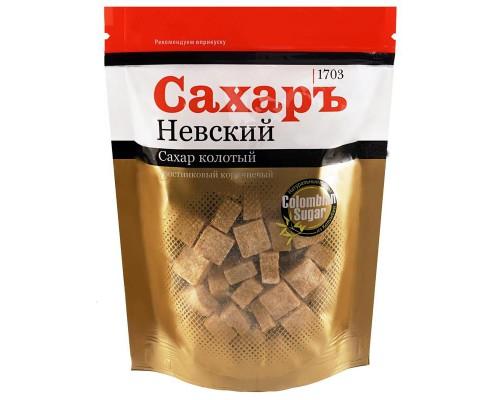 Сахар кусковой прессованный колотый тростниковый Сахаръ Невский 420 г