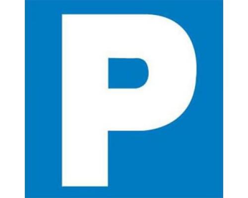 Этикетки самоклеящиеся 114х114мм, APLI, Парковка