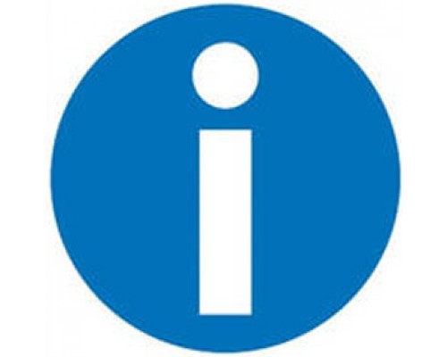 Этикетки самоклеящиеся 114х114мм, APLI, Информация