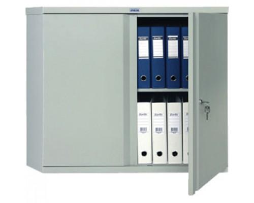 Шкаф для бумаг ПРАКТИК AM-0891, 832х915х458, антресоль, ключевой замок