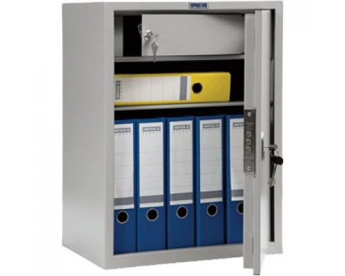 Шкаф для бумаг ПРАКТИК SL-65T, 630х460х340, ключевой замок.