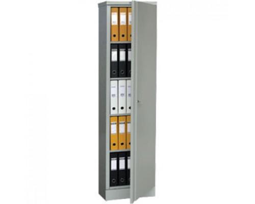 Шкаф для бумаг ПРАКТИК AM-1845, 1830х472х458, ключевой замок