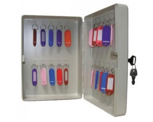 Шкаф для 20 ключей 200х160х80мм, серый