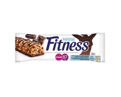 Батончик Fitness с цельными злаками и шоколадом (24 батончика по 23.5 г)