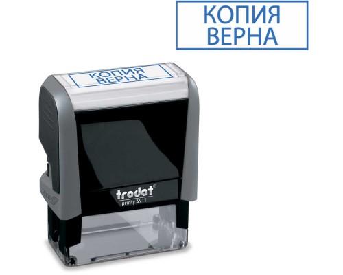 Штамп TRODAT 4911 КОПИЯ ВЕРНА 38х14мм