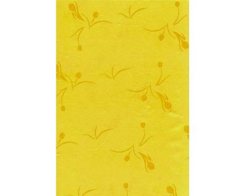 Скатерть Aster Creative бумажная желтая 120х200 см