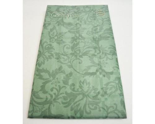 Скатерть Vitto Prestige бумажная зеленая 120x180 см