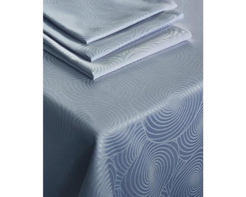 Салфетка набор 5 штук Журавинка Рис2193 35х35 темно-голубая пропитка гряземаслооталкивающая
