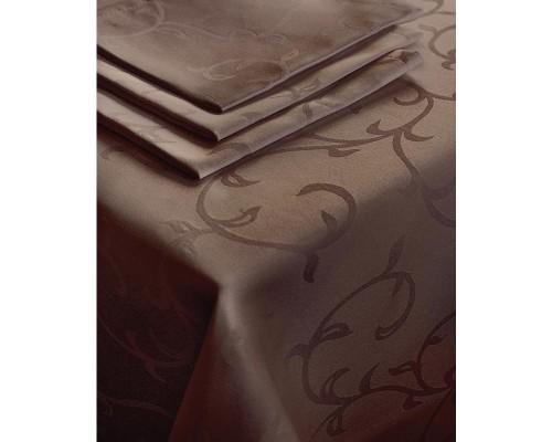 Салфетка набор 5 штук Журавинка Рис1927 35х35 коричневая пропитка гряземаслооталкивающая