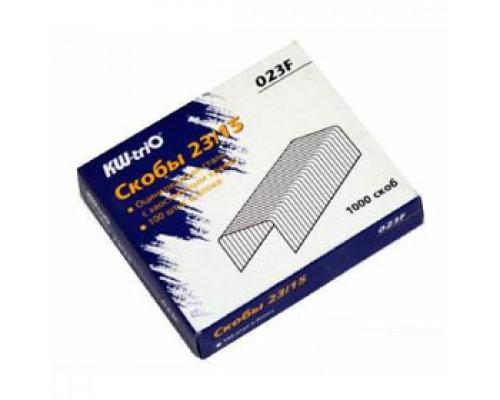 Скобы для степлера №23/15 KW-TRIO, 1000шт., до 120л.