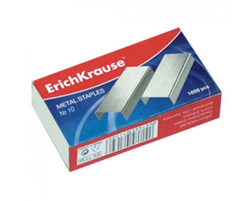 Скобы для степлера №10 ERICH KRAUSE 1188, 1000шт.