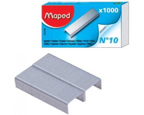 Скобы для степлера №10 MAPED, 1000шт.