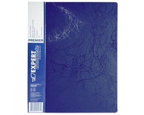 Папка-скоросшиватель с пружинным механизмом, EXPERT Complete, синий