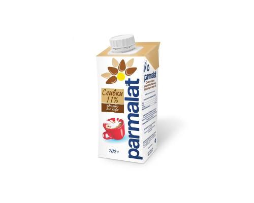 Сливки Parmalat ультрапастеризованные 11% 200 г