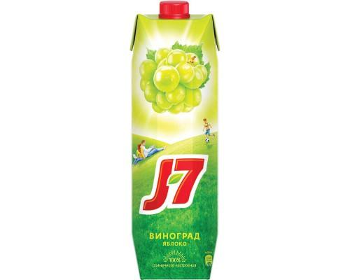Нектар J7 белый виноград 0.97 л (призма)