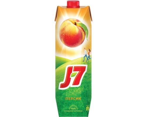 Нектар J7 персик с мякотью 0.97 л