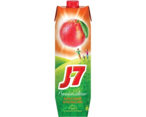 Нектар J7 красный апельсин 0.97 л