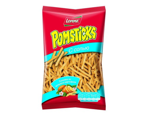 Картофельная соломка Pomstiks с солью (100 г)