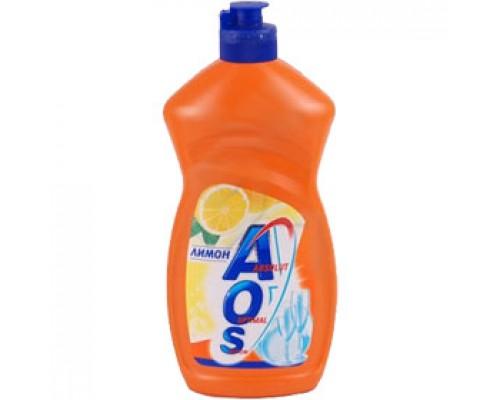 Средство для мытья посуды AOS, 500мл., ассорти
