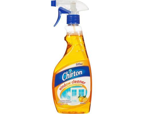 CHIRTON для стекол и др.поверхностей, флакон с курком, 500 мл, отдушки в ассортименте