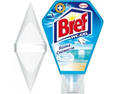 Гигиенический блок для унитаза BREF гель 200мл., ассорти