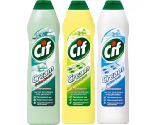 Чистящее средство CIF, актив, 250мл.