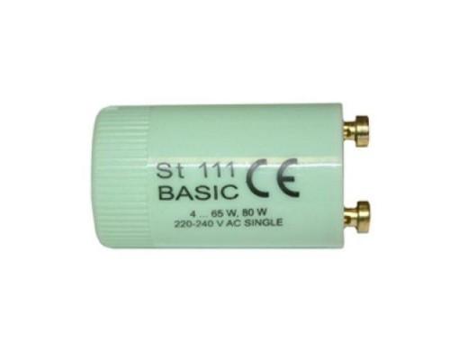 Стартер для люминесцентных ламп Osram ST 111 4-65 Вт 230 В 25 штук в упаковке