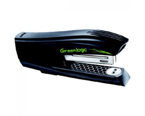 Степлер 24/6 25л, MAPED Greenlogic Haif Strip, пластик, вертикальный, черный