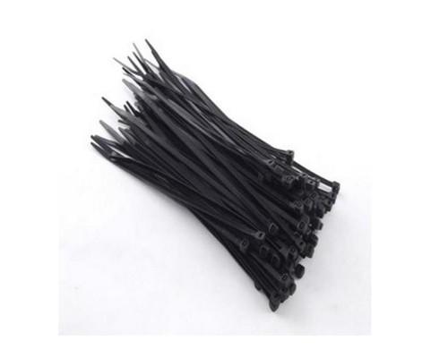 Хомут REXANT (07-0151) nylon 3.0х150(2,5x150) мм 100 шт black